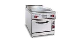 Griddle / Fry Top Griddle w/ Oven