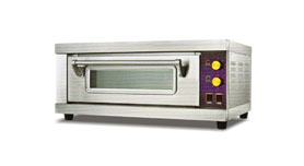 Luxury Deck Oven 1 Deck-1 Tray/ 2 Tray