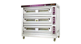 Luxury Deck Oven 3 Deck-6 Tray/ 9 Tray