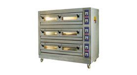 Deck Oven 3 Deck-3 Tray/ 6 Tray/ 9 Tray