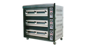 Deck Oven - Stackable Type 3 Deck-9 Tray/ 2 Tray