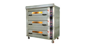 Deck Oven - Europe Type 3 Deck-9 Tray/ 2 Tray