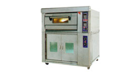 Deck Oven c/w Proofer 1 Deck w/ 1 Tray (5 Proofer)