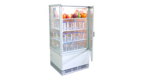 Reach-In Display Chiller 4 Side Glass