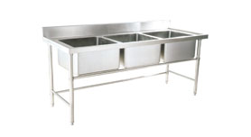 S/S Fabricated Series Bowl Sink Table